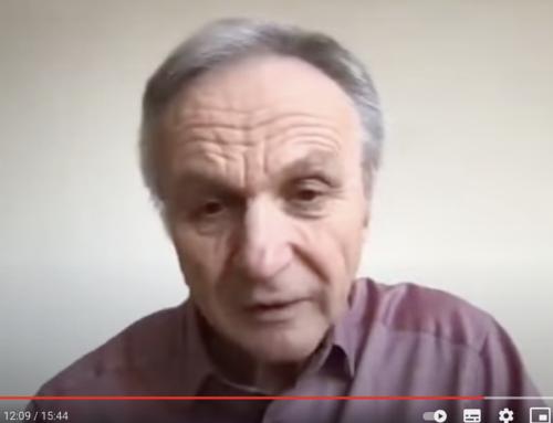 """Dr. Josef Thoma: """"Der Stoff, aus dem Unruhen entstehen"""""""